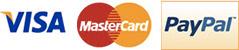 PayPal Visa o Mastercard